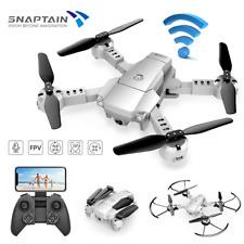 Snaptain A10 WIFI Faltbare Drohne HD Camera RC FPV Quadrocopter Voice Control