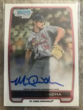 2012 Bowman Chrome Draft Michael Wacha Auto Cardinals