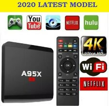 A95x Android box Smart Tv Box Media Netflix WiFi Free View 1-8gb FREE GIFT PACK