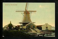 Windmills postcard Holland Netherlands Molen bij Monnikendam