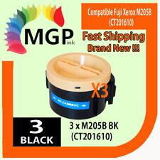 3X Fuji Xerox compatible toner for CT201609 CT201610 P205 P205B M205 M205B