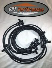 SMALL BLOCK CHEVY 265-305-327-350-400 BLACK HEI SILICONE Plug Wires Over Covers