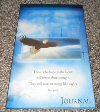 Those Who Hope In The Lord Soar Like Eagles Bible Verse Journal Isaiah 40:31