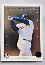 1998 SP Authentic Sheer Dominance Silver #SD36 Mo Vaughn Red Sox