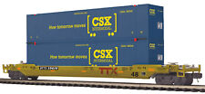New ListingMth Premier O Trains Ttx #59622 Csx Husky Stack Car 20-95417