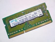 4GB DDR3-1333 PC3-10600 SAMSUNG M471B5273CM0-CH9 LAPTOP SODIMM RAM SPEICHER