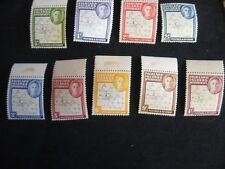 F.I.D. 1946-49 Thin Map Definitive set mounted mint