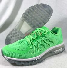 New Nike Air Max 2015 GS Sz 7Y (8.5 WMNS) 705457-300 Green Running 360 40 EUR