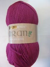 400g Ball of Hayfield Bonus Aran with 20% Wool for Knitting and Crochet