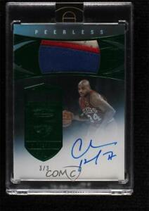 2019 Panini Eminence Peerless Patch Autograph Green 3/3 Charles Barkley #PP-CBK