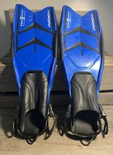 Woman's Aqua Lung V-Tek Natures Wing Split Fins SCUBA Diving Size Sm/Med  5-81/2