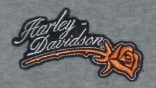 Harley Davidson Gray Shirt Top Short Sleeve Hickory NC Womens Large