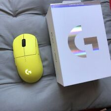 Limited Edition - Logitech G Pro Wireless Mouse OP (Lime) IN HAND