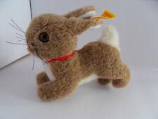 Steiff rabbit miniature button flag stuffed animal made in Germany 2453