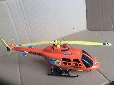 grün, siehe Foto Spielzeugautos Polizei NRW Hubschrauber Spielzeug 1985