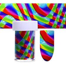 Nagelfolie Nail Art Bunt Starry Sky Nagelsticker Nail Foils Transfer Decals DIY