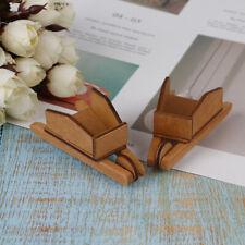 1Pc Children baby gift Toy 1:12 Dollhouse mini Furniture Miniature wooden Car-