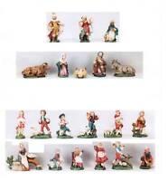 Krippe Krippenfiguren Zusatzteile für 10 cm Terracotta Figuren Italien Schafe