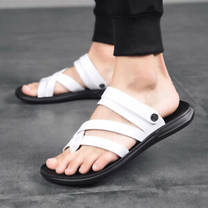 Mens Hollow out Flip Flop Summer Beach Slippers Shoes Casual Slip on Sandals NEW