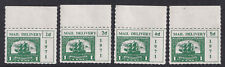 (23553) GB MNH Postal Strike Mail Delivery 1d - 5d 1971