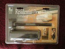 Tell DC-100079 Residential Door Closer, Brown UL Listed, New in factory package.