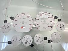 Audi 100 C4 S4 280 km/h plasma dials set + volt meter dial
