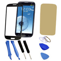 JN_ Replacement Screen Glass Lens + Tool Kit for Samsung Galaxy S3 i9300 I747