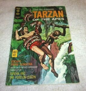 Old Golden Key Bronze Age Comic Book Tarzan Of The Apes # 139 1970 5.0