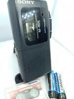 Sony M-405 Pressman MicroCassette Voice Recorder Dictaphone Dictation Machine