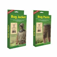 Coghlan's Bug Suit Pants & Jacket Small Black Unisex Lightweight Mosquito Net