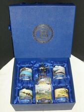 """NEW """"FREEDOM FIGHTERS"""" by ROBERT TAYLOR  DECANTER SET BY THE BRADFORD EXCHANGE"""