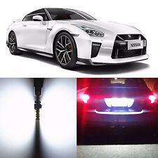 Alla Lighting License Plate Light 2825 White LED Bulbs for Nissan GT-R Juke Leaf