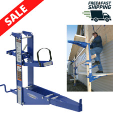 Steel Pump Jack Planks Scaffolding Power Tool Manual Crank Pole Easy Operation