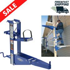 Steel Pump Jack Planks Scaffolding Power Tool Manual Crank Pole Easy Operation