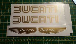 ****Ducati wings set Motorcycle Vinyl****