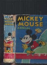 THE SECOND MICKEY MOUSE ANNUAL 1931 - WALT DISNEY