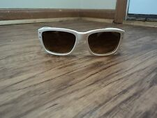 Smith White and Gold Studded Fashion Sunglasses with Black Lenses