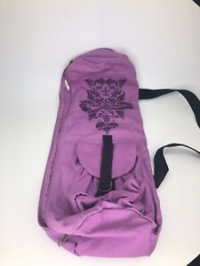 gaiam yoga mat bag Purple Carrier Bag Yoga Bag a1L