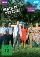 4 DVDs - DEATH IN PARADISE - STAFFEL / SEASON 6 - NEU - OVP