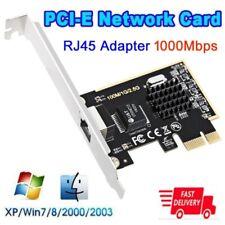 PCI-E 10/100/1000M 2.5G Gigabit Ethernet Network Card RJ45 Lan Adapter  For PC