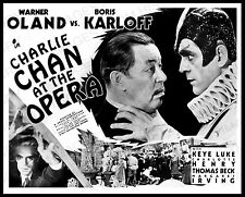 16x20 Poster Warner Oland Boris Karloff Charlie Chan at the Opera 36 #2016717