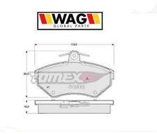 1394 Kit pastiglie freno a disco anteriore Audi-Seat-Skoda-Vw (MARCA-WAG)