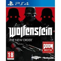 Wolfenstein The New Order PS4 Sony PlayStation 4 NEW - 1st Class Delivery