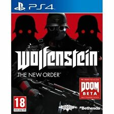 Wolfenstein The New Order PS4 Sony PlayStation 4 Mint - 1st Class Delivery