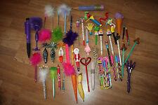 46 vintage pens lot taiwan 80s 90s sanrio surprise zoozoo italy