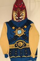 LEGO CHIMA HOODED JACKET LAVAL THE LION MASKED HOODY HOODIE COAT BOYS XL 18/20