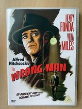 The Wrong Man DVD 1956 Alfred Hitchcock Thriller Classic w/ Henry Fonda