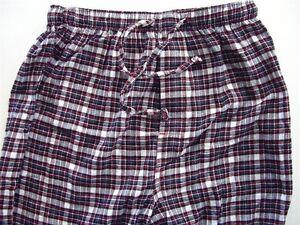 Ms10 Club Room Men's Sleepwear Pajama Pj Lounge Pants Bottoms Red Multi S