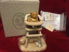 Enesco Cherished Teddies Babs A Baby Fills the Empty Space in Every Heart Box