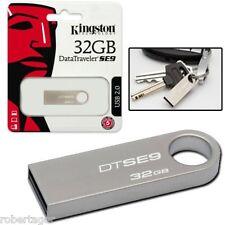 PENDRIVE KINGSTON USB 2.0 32 GB MEMORIA USB DTSE9 32 GB MEMORIA SE9 DTSE9H 32 GB